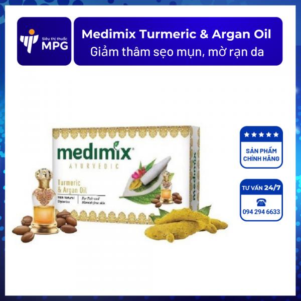 Medimix Turmeric & Argan Oil