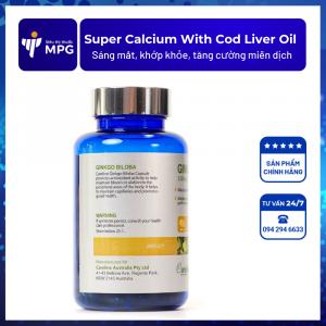Super Calcium Supplement With Cod Liver Oil Careline