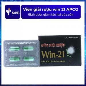 Viên giải rượu win 21 APCO