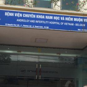 Bệnh viện Nam học Hiếm muộn Việt Bỉ