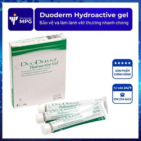 Duoderm Hydroactive gel