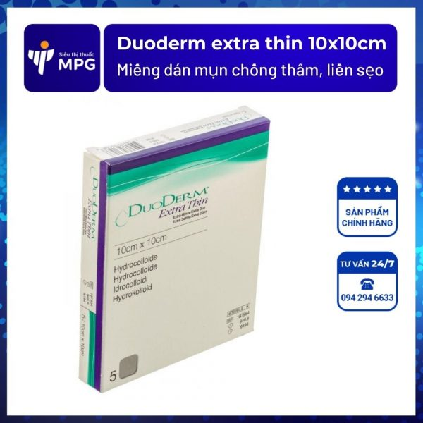 Duoderm extra thin 10x10cm
