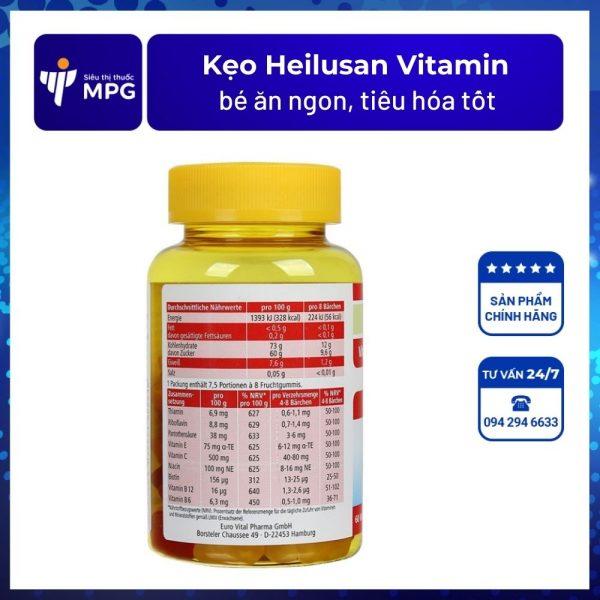 Kẹo Heilusan Vitamin