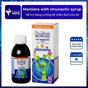 Martians with Imunactiv syrup