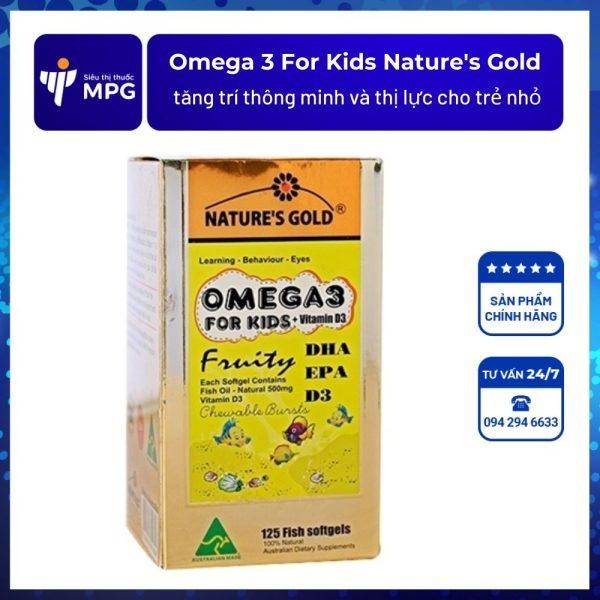 Omega 3 For Kids Nature's Gold