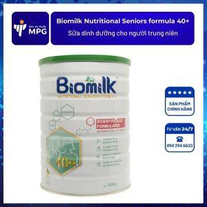 Biomilk Nutritional Seniors formula 40+