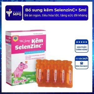 Bổ sung kẽm SelenzinC+ 5ml